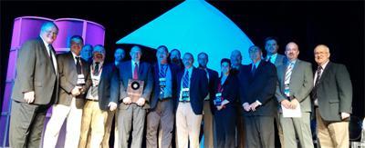 Jeff Benson receives NIAAA Distinguished Award