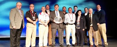 Bunky Dow, CAA of Mt. Desert Isle received the National Federation Citation